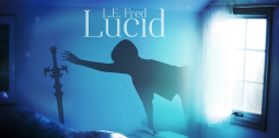 """Lucid"" by L.E. Fred - Social Media Banner"