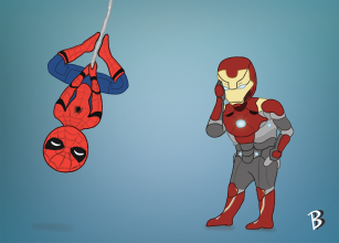 """Spider-Man and Iron Man"" - Spider-Man: Homecoming"