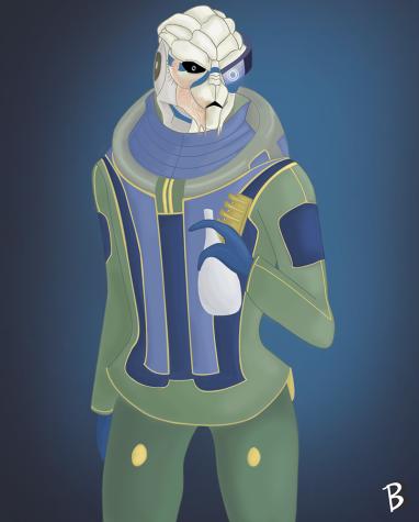 Mass Effect: Garrus