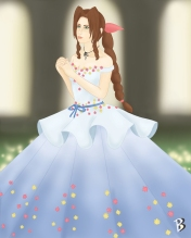 Final Fantasy Gown Collection: Aeris
