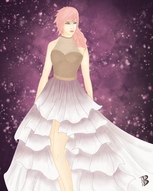Final Fantasy Gown Collection: Lightning
