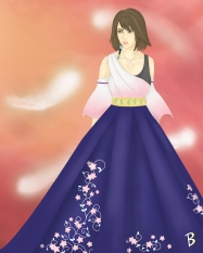 Final Fantasy Gown Collection: Yuna