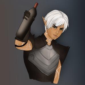 """""""Fenris - Dragon Age"""""""