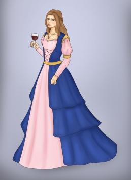 """""""The Princess"""" - Original Piece"""