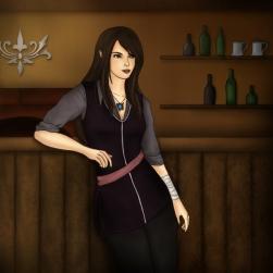 """The Elf in the Tavern"" - Original Piece"