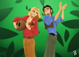 """""""Tulio and Miguel - The Road to El Dorado"""""""