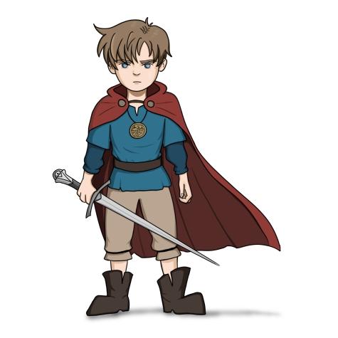 """Young Adventurer"""